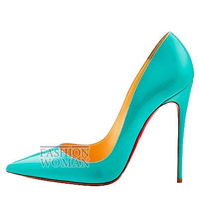Женская обувь Christian Louboutin весна-лето 2014 фото №163