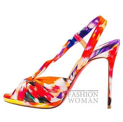 Женская обувь Christian Louboutin весна-лето 2014 фото №172