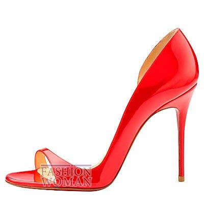 Женская обувь Christian Louboutin весна-лето 2014 фото №176