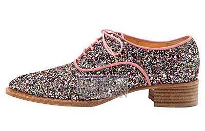 Женская обувь Christian Louboutin весна-лето 2014 фото №187