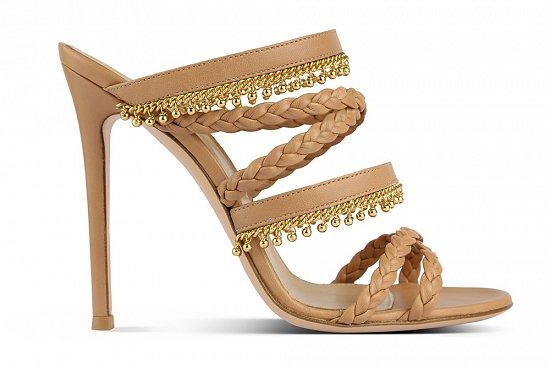 Женская обувь Gianvito Rossi весна-лето 2015 фото №4