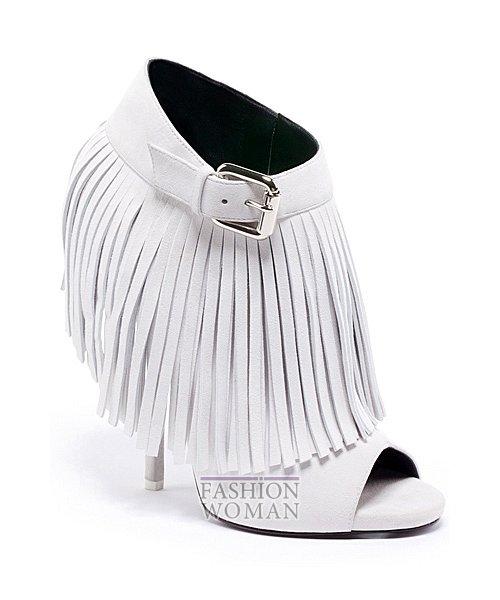 обувь с бахрамой