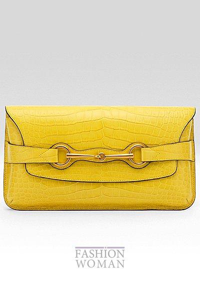 желтый клатч фото
