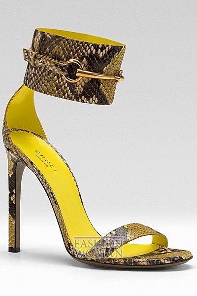 Обувь Gucci весна-лето 2013