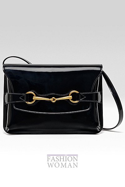 лаковая сумка Gucci