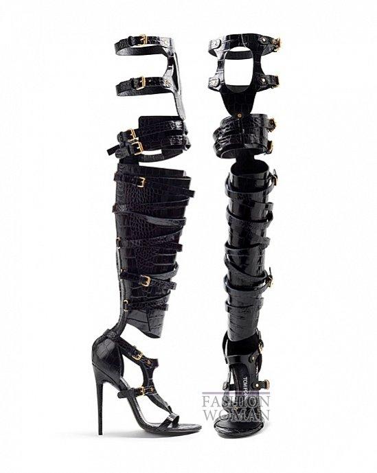 сандали-гладиаторы на каблуке