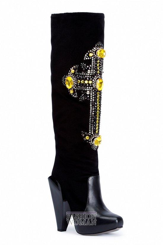 Обувь Versace осень-зима 2012-2013