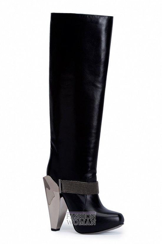 сапоги Versace осень-зима 2012-2013