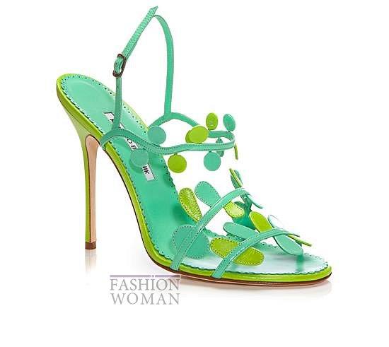 Обувь Manolo Blahnik весна-лето 2014 фото №11