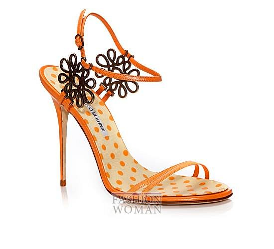 Обувь Manolo Blahnik весна-лето 2014 фото №12