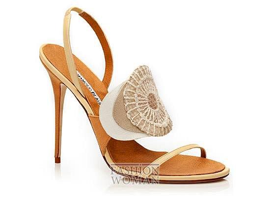 Обувь Manolo Blahnik весна-лето 2014 фото №13