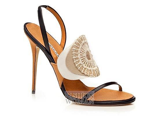 Обувь Manolo Blahnik весна-лето 2014 фото №14