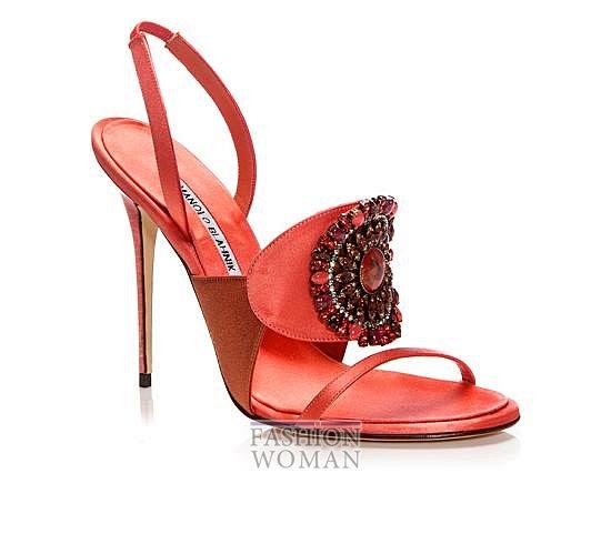 Обувь Manolo Blahnik весна-лето 2014 фото №15