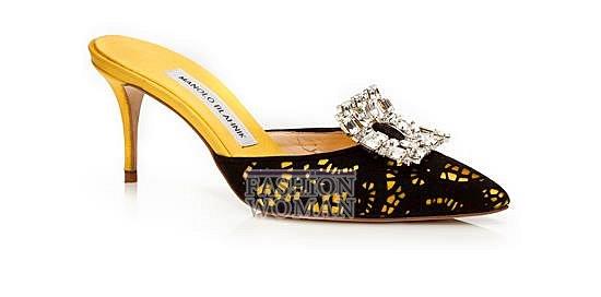 Обувь Manolo Blahnik весна-лето 2014 фото №19