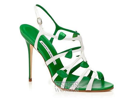 Обувь Manolo Blahnik весна-лето 2014 фото №24