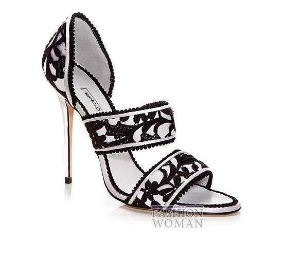 Обувь Manolo Blahnik весна-лето 2014 фото №58