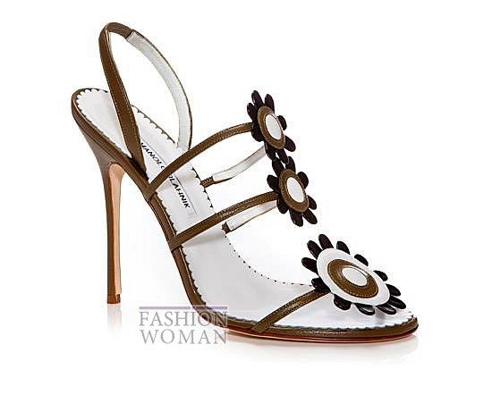 Обувь Manolo Blahnik весна-лето 2014 фото №29
