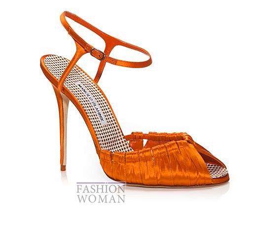 Обувь Manolo Blahnik весна-лето 2014 фото №30