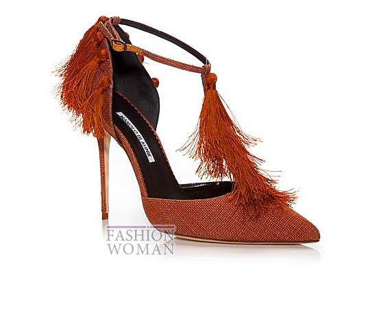 Обувь Manolo Blahnik весна-лето 2014 фото №32