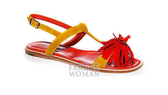 Обувь Manolo Blahnik весна-лето 2014 фото №51