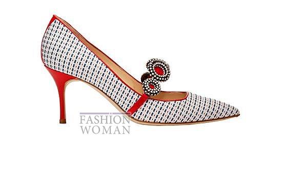 Обувь Manolo Blahnik весна-лето 2014 фото №62