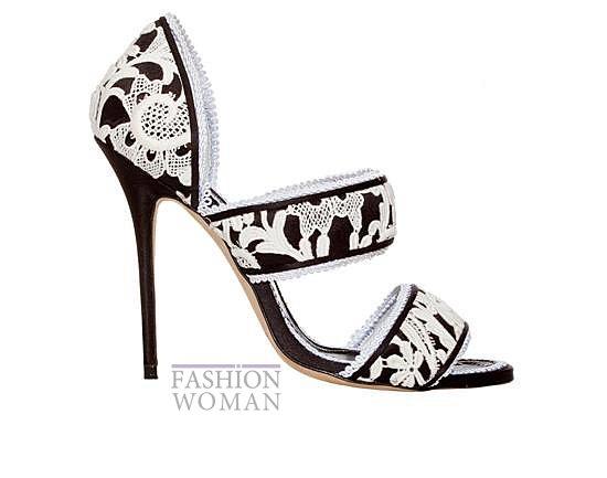Обувь Manolo Blahnik весна-лето 2014 фото №64