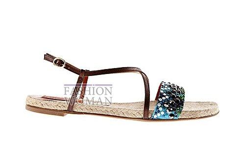 Обувь Missoni весна-лето 2012 фото №13