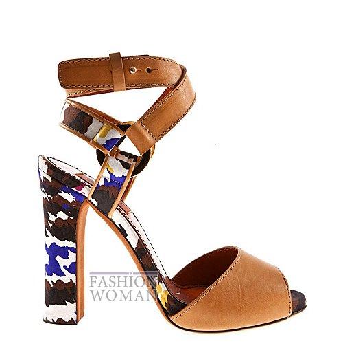 Обувь Missoni весна-лето 2012 фото №3