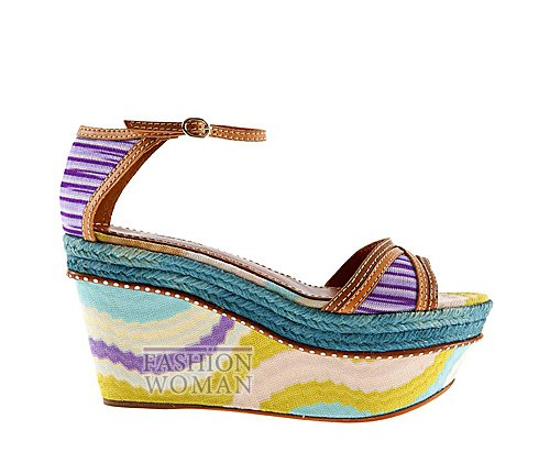Обувь Missoni весна-лето 2012 фото №22