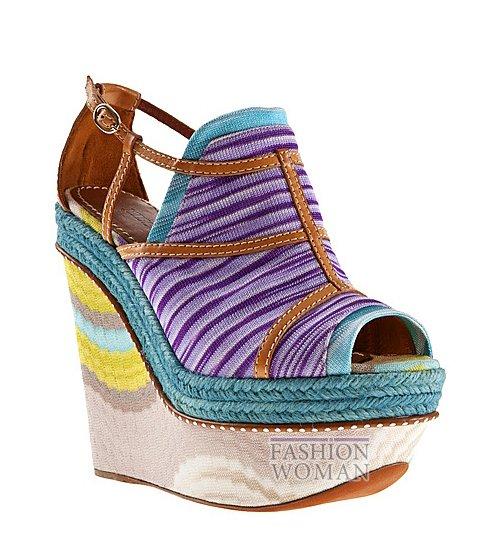 Обувь Missoni весна-лето 2012 фото №24
