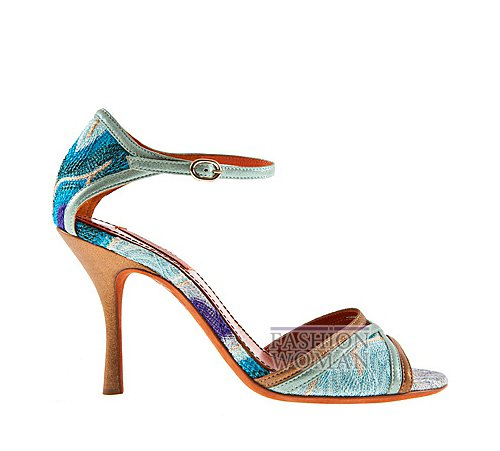 Обувь Missoni весна-лето 2012 фото №30
