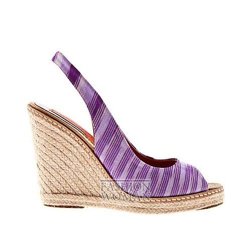 Обувь Missoni весна-лето 2012 фото №35
