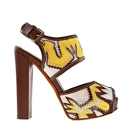 Обувь Missoni весна-лето 2012 фото №6