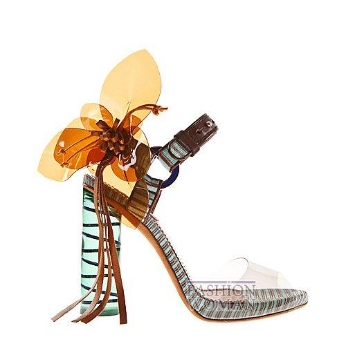 Обувь Missoni весна-лето 2012 фото №53