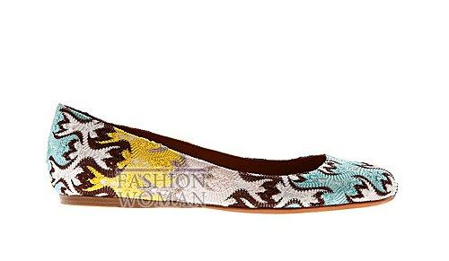 Обувь Missoni весна-лето 2012 фото №10