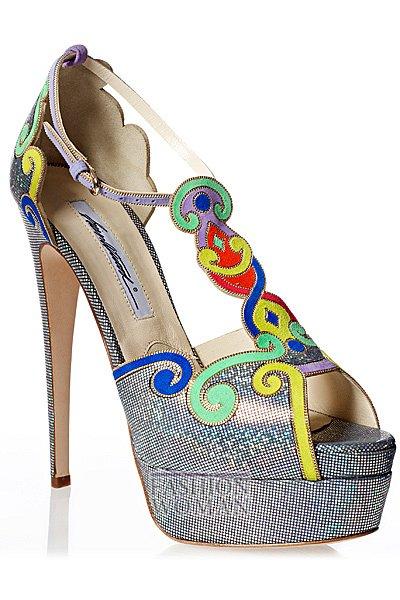 Обувь весна-лето 2013 от Brian Atwood  фото №47