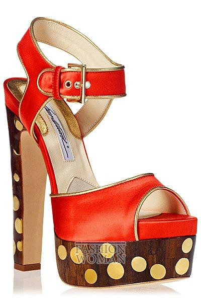 Обувь весна-лето 2013 от Brian Atwood  фото №67