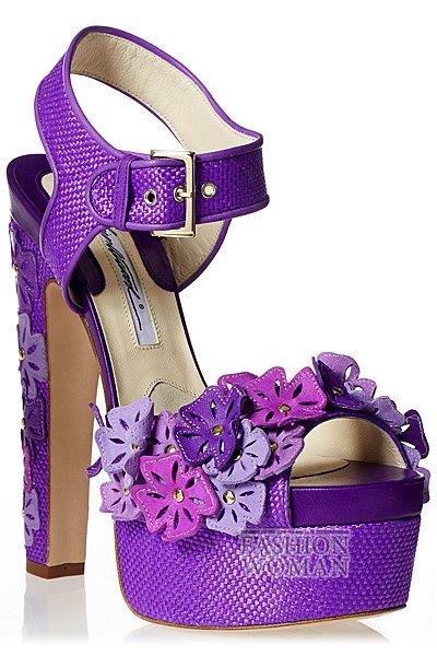 Обувь весна-лето 2013 от Brian Atwood  фото №72