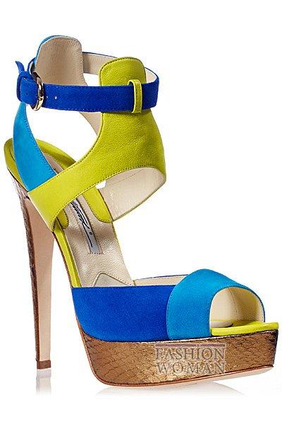 Обувь весна-лето 2013 от Brian Atwood  фото №74