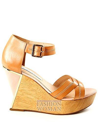 обувь на платформе лето 2013