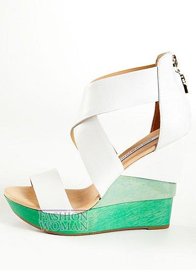 летняя обувь на платформе