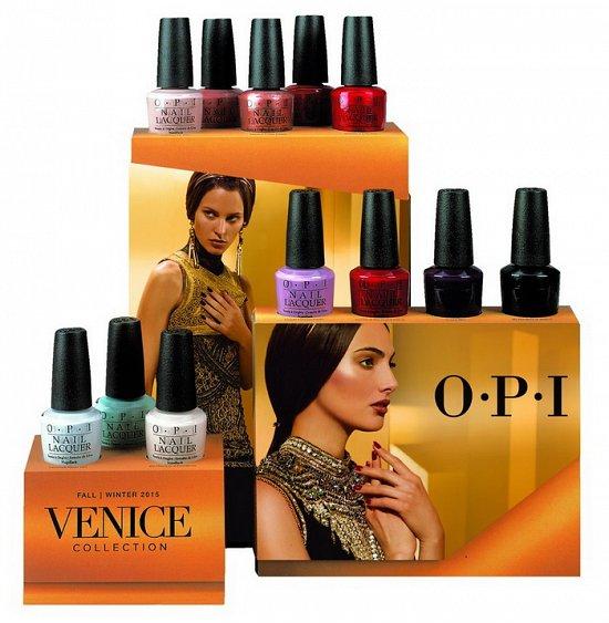 Коллекция лаков для ногтей OPI Venice осень-зима 2015-2016