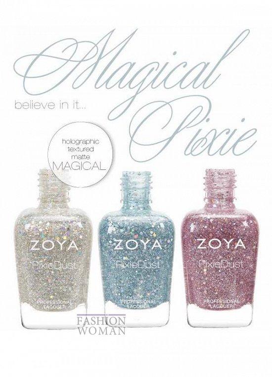 Весенняя коллекция лаков для ногтей Zoya
