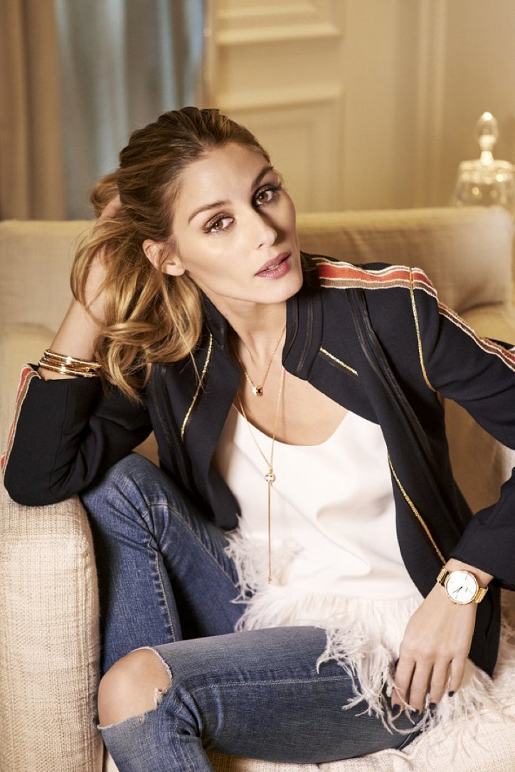 Оливия Палермо в рекламе украшений Piaget фото №3