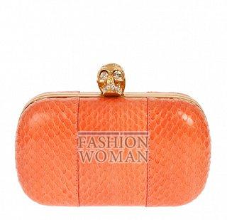 Оранжевый клатч 2012