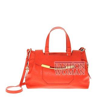 Оранжевая сумка весна-лето 2012