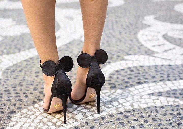 Оригинальные туфли с ушками Minnie Mouse by Oscar Tiye фото №3