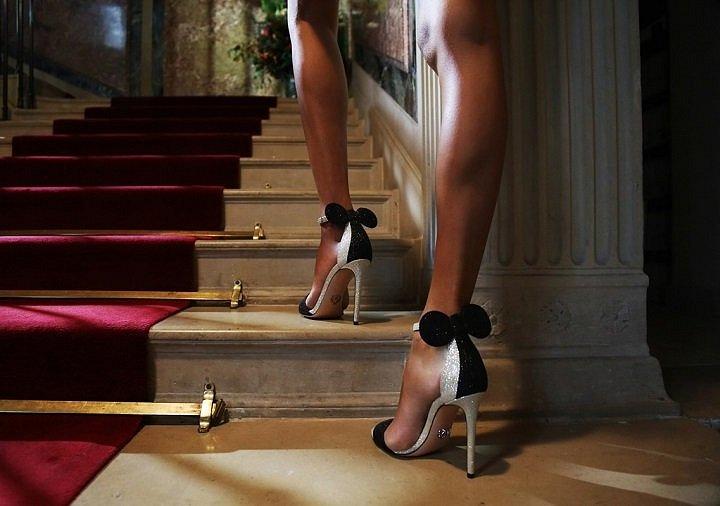 Оригинальные туфли с ушками Minnie Mouse by Oscar Tiye фото №4