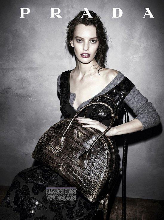 Осенне-зимняя рекламная кампания Prada