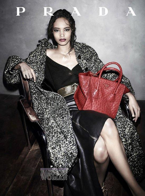 Осенне-зимняя рекламная кампания Prada  фото №6